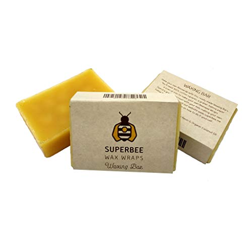 Block of Beeswax for Wraps, with Tree Resin and Coconut Oil. Make up to 10...