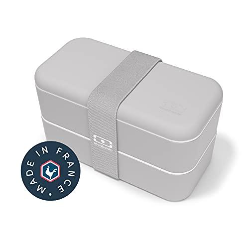 Monbento - Fiambrera bento con 2 compartimentos herméticos  de 1 L