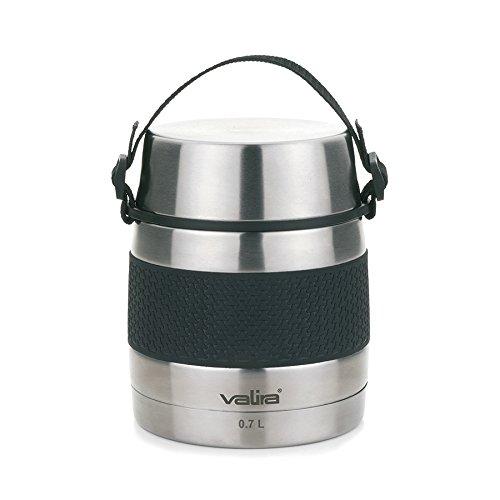 Valira 6614 - Termo para sólidos con 2 contenedores interiores, 0,7 L