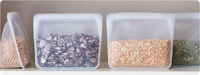bolsas silicona alimentos