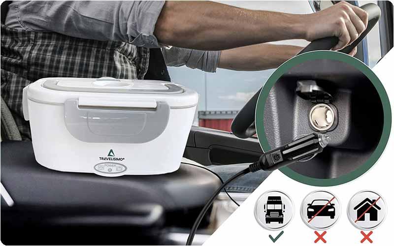 Comprar Fiambrera eléctrica Travelisimo 24v Camión