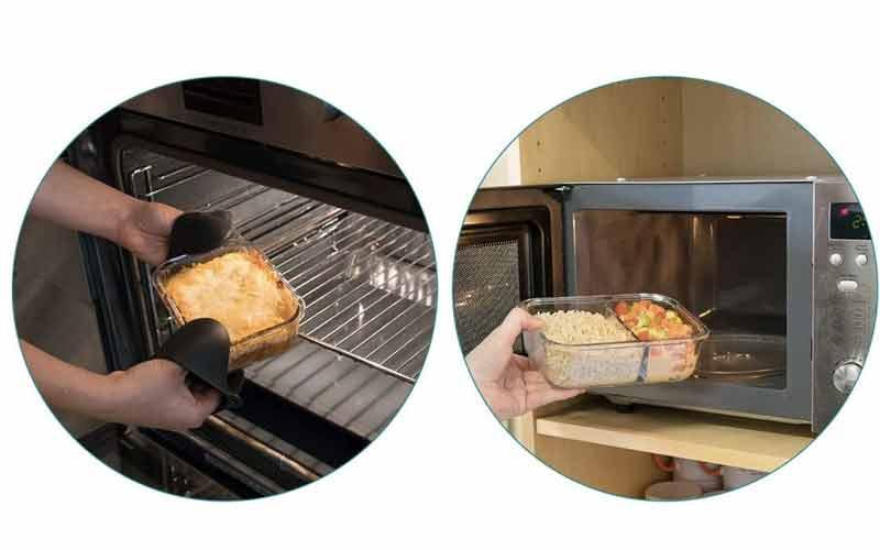 recipientes para hornos y microondas