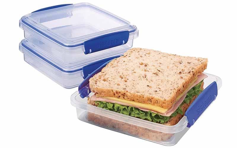 Tuppers para Sandwiches sistema