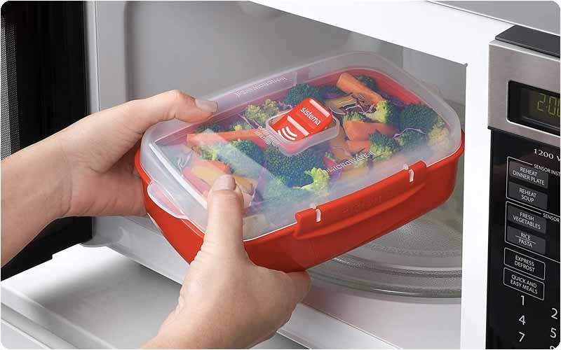 Tuppers para cocinar en microondas